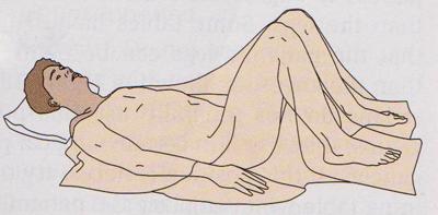Dorsal recumbent